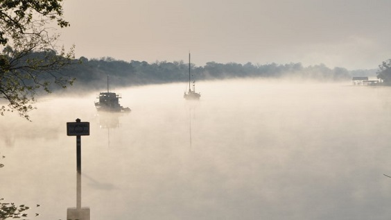 River Fog Photo Credit Tony Bevis