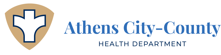 A logo for Atens city-county