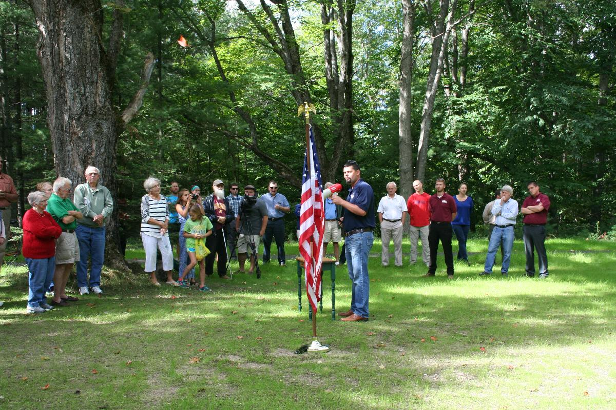 Phase 1 Trail Dedication - State Rep Triston Cole