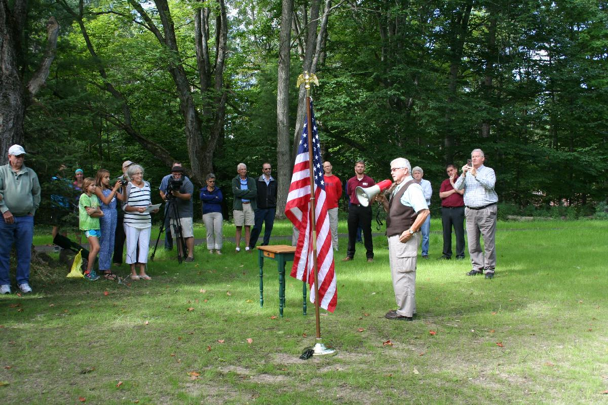 Phase 1 Trail Dedication - Sheriff Don Schneider