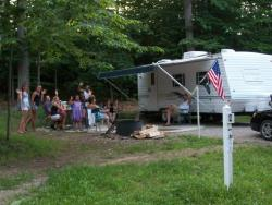 Whiting Park Campground - Electric Site 3