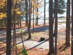 Whiting Park Campground in Autumn
