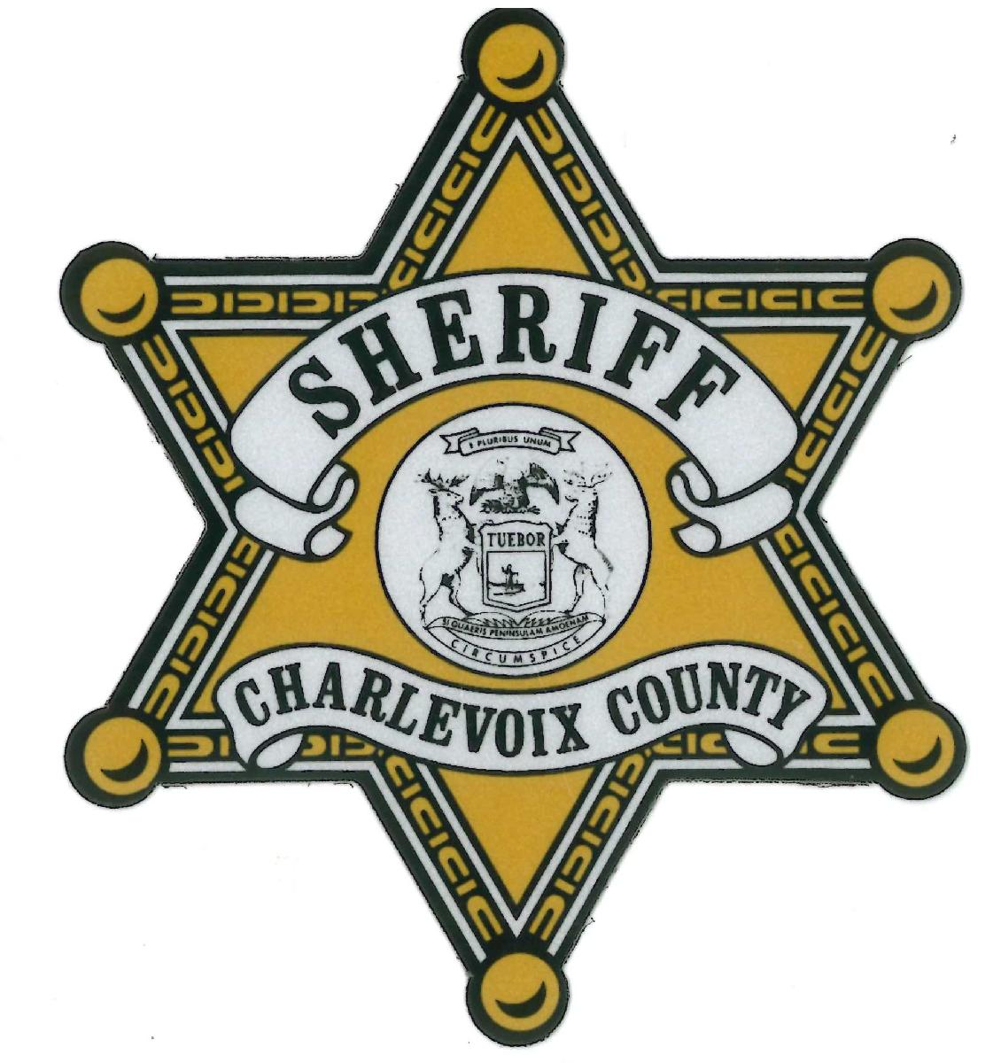 Image result for charlevoix county sheriff's logo