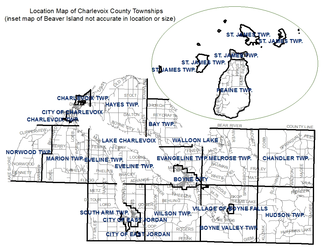 townships map