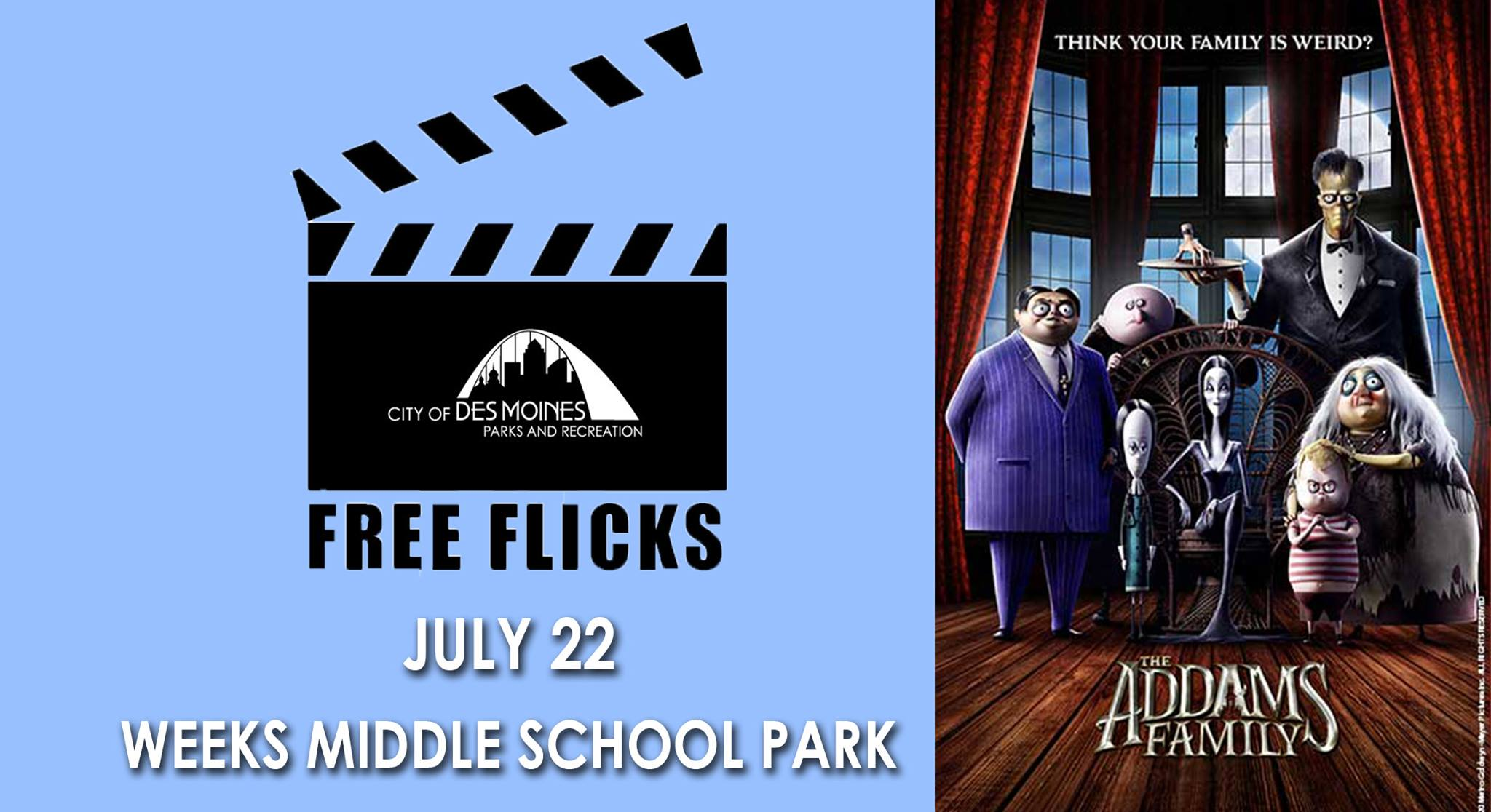 July 22 - The Addams Family