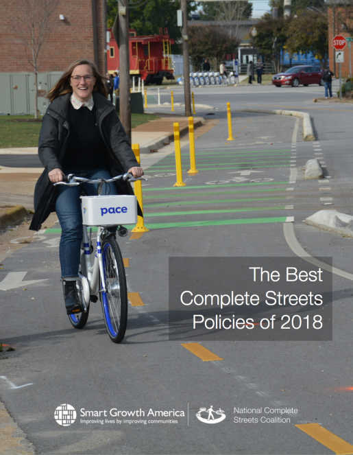The Best Complete Streets Policies of 2018