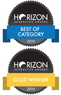 Awards for Best of Category and Gold Winner