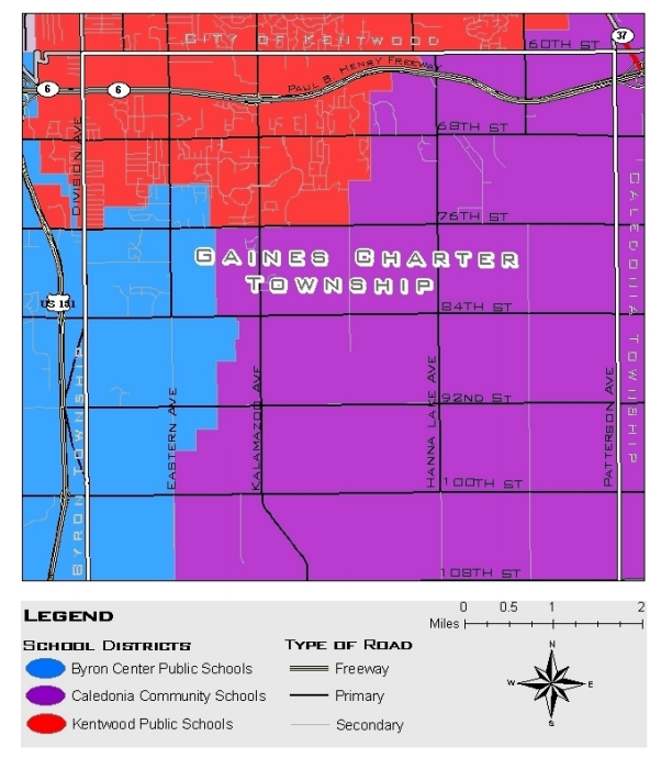 School Districts Map