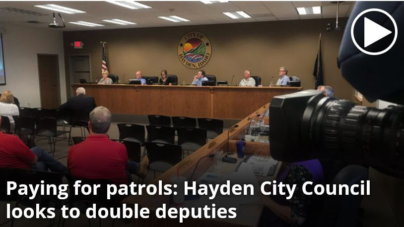 Council Meeting KXLY Video Image