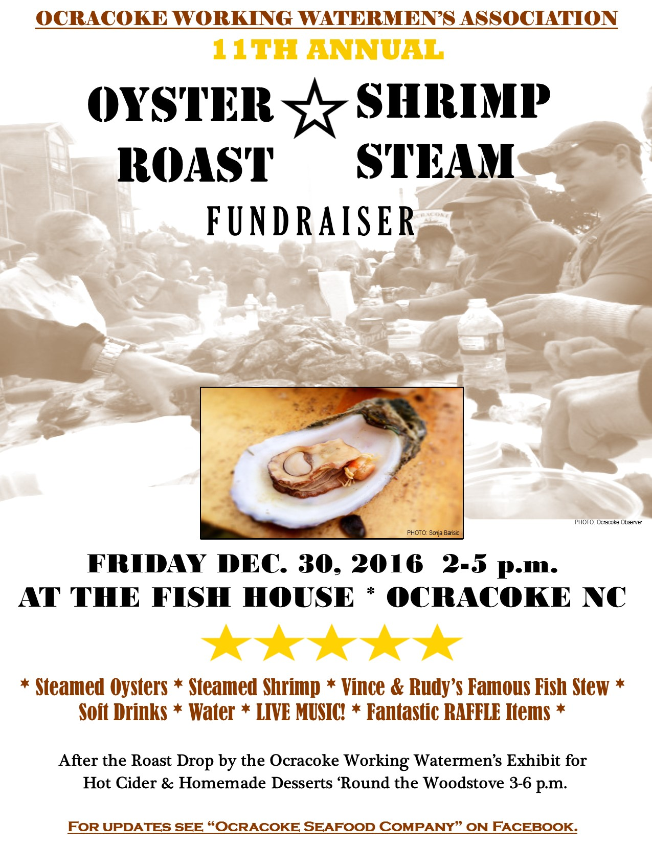 Shrimp Fundraiser Will Be Held Friday, December 30, 2016, From 2   5pm At The