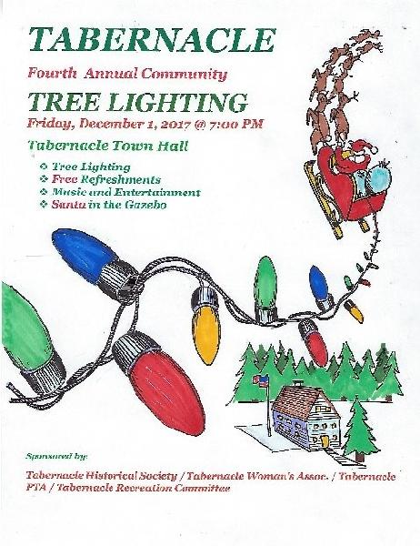 2017 Tree Lighting Flier