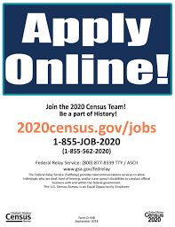 2020 Census Apply Online