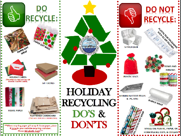 Holiday Recycling Dos and Don'ts - Copy